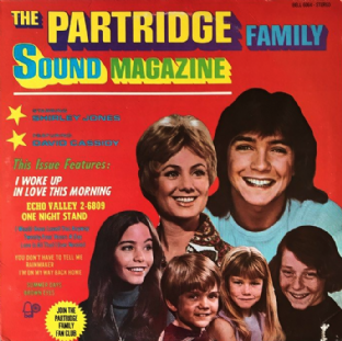 Partridge Family (The) ‎- The Partridge Family Sound Magazine (LP) (VG/G-VG)